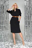 Платье L-288 - черный: 44,46,48,50, фото 1