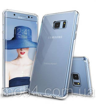 Прозорий силіконовий чохол для Samsung Galaxy (Самсунг Гелексі) Note 5