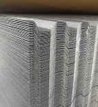 Профільний полікарбонат  Suntuf колотий лід 1,06х3м, прозорий  2УФ-захист, фото 4