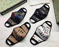 Защитная маска Louis Vuitton многоразовая (качество Люкс ААА)