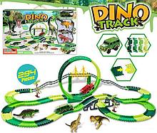 Гибкий автотрек Мир динозавров 3087 S, 294 детали