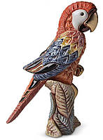 Фигурка De Rosa Rinconada Попугай Красный с розовым