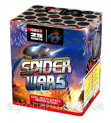 Салютна установка FUROR «Spider Wars» FC3025-3