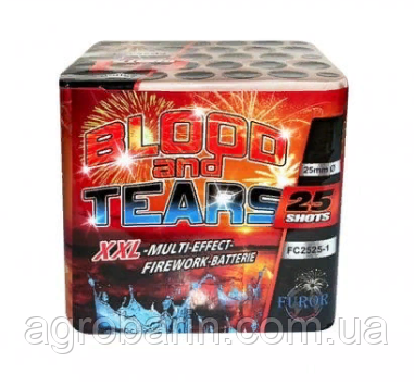 Салютная установка «BLOOD AND TEARS» FC2525-1