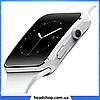 Умные часы Smart Watch X6 white - смарт часы со слотом под SIM карту Белые, фото 4