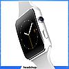 Розумні годинник Smart Watch X6 white - смарт годинник зі слотом під SIM карту Білі, фото 5