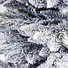 Елка искуственная Альпийская темно зеленая ПВХ 1.5м (150см) Штучна ялинка Ялынка штучна пвх Елка зелена, фото 3