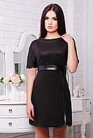 Платье Замш черный
