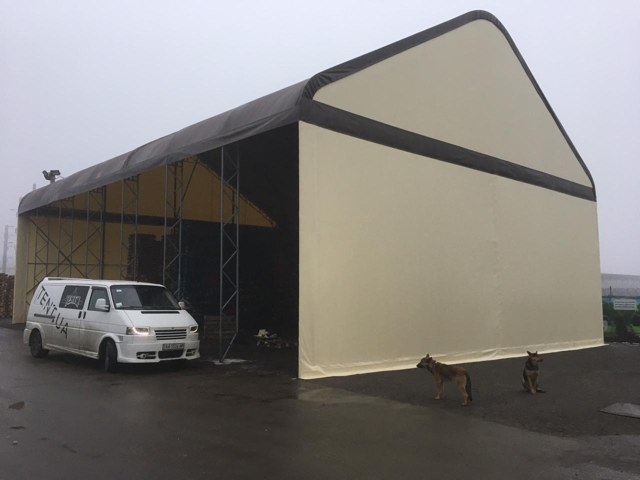 Здания быстровозводимые TENT.UA, ангары каркасные для склада, павильоны для производственных площадей