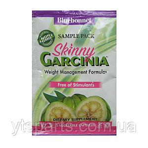 Гарциния, Формула управления Весом, Bluebonnet Nutrition, Skinny Garcinia, 3 вегетарианских капсул