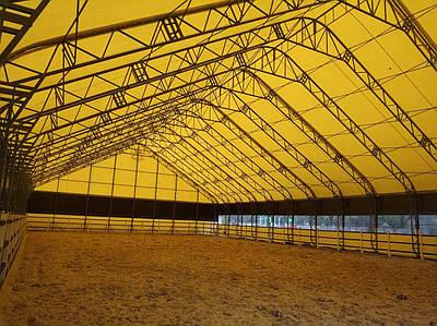 Ангари павільйони для зерна  від TENT.UA, ангари для конних манежей, ангари тентови для ферм.