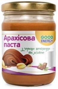 Арахисовая паста с черным шоколадом и мятой 500 гр