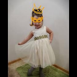 """Нарядное платье """"Золушка""""  для девочки на выпускной в садик."""