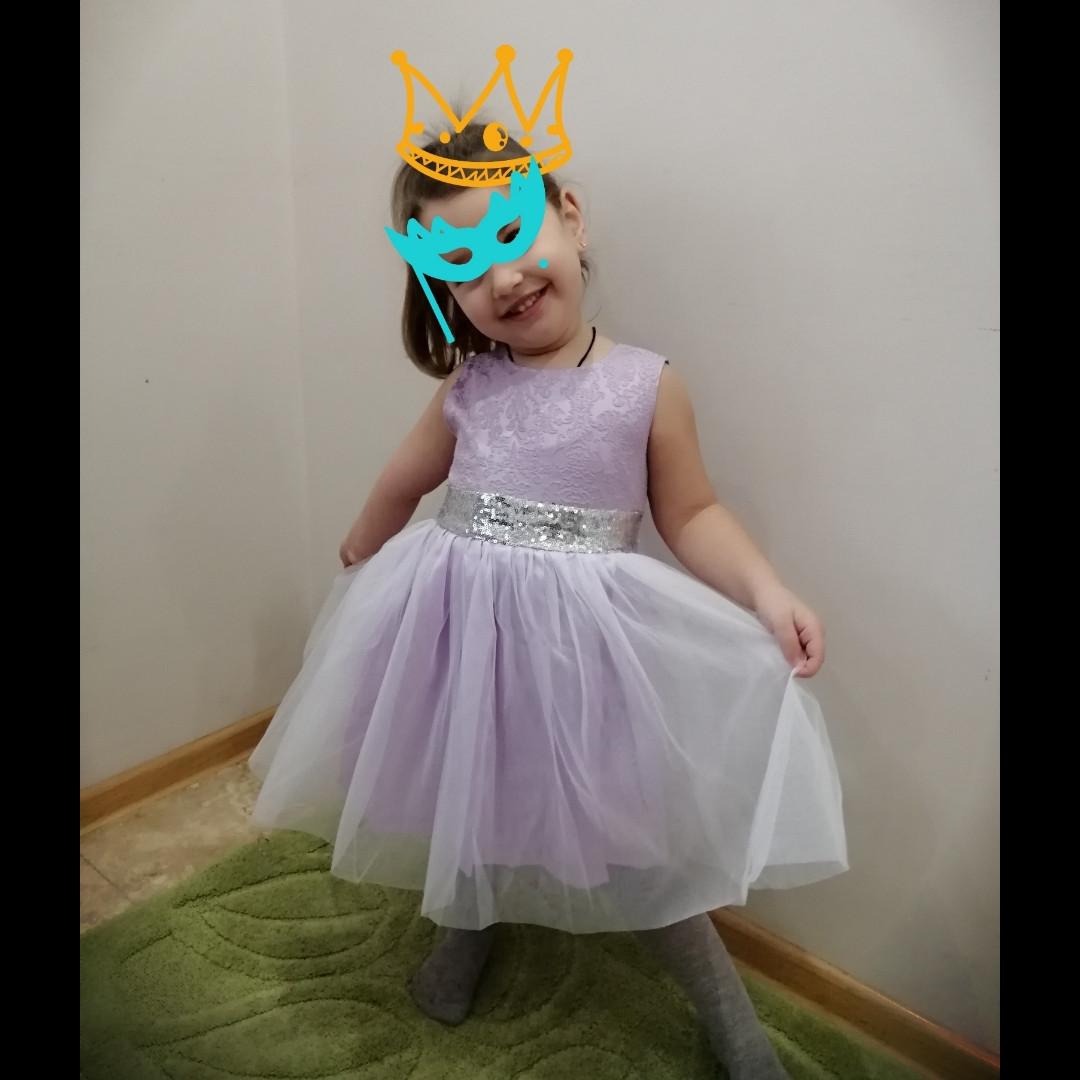 """Нарядное красивое платье """"Сирень"""" для девочки от производителя."""