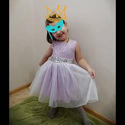 """Красиве нарядне плаття """"Бузок"""" для дівчинки від виробника."""