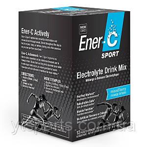 Электролитный напиток, Микс Ягод, Sport Electrolyte Drink Mix, Ener-C,  12 пакетиков