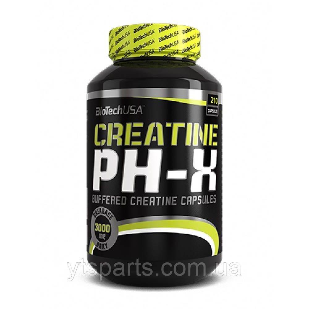 BioTech CREATINE pH-X 210 капс.