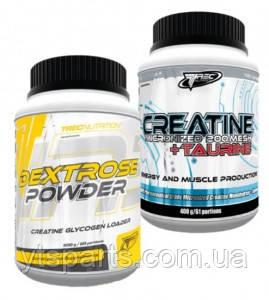Trec Nutrition Creatine Micronized 200 Mesh  400 g+Dextrose 500 g