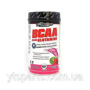 Аминокислоты BCAA с Глютамином, вкус клубники и киви, Extreme Edge BCAA + Glutamine Powder, Strawberry Kiwi,