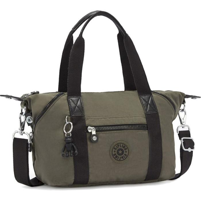 Тканевая женская сумка Kipling Basic Art Min, зеленый