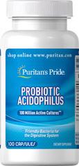 Puritans Pride Probiotic Acidophilus 100 capsules