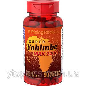 PipingRock Super Yohimbe Max 2200 90 caps