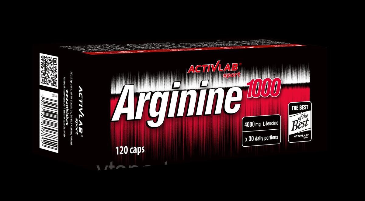 ActivLab Arginine 1000 120 caps активлаб аргинин