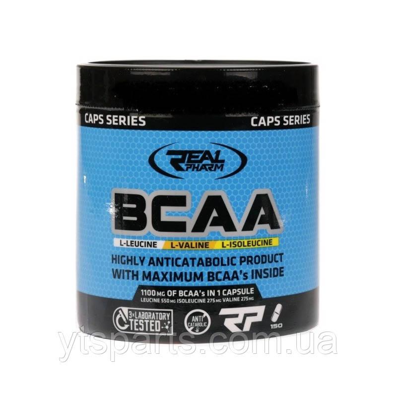 Real Pharm BCAA 1100mg 150 caps реал фарм бцаа