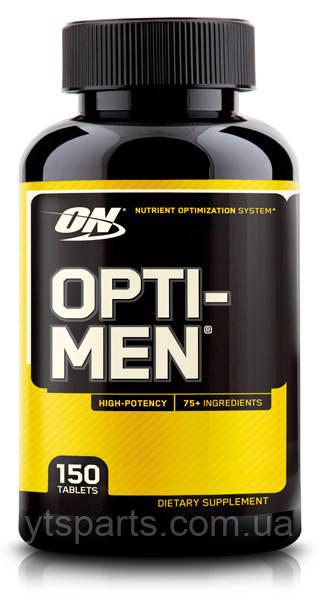 Витамины Optimum Nutrition Opti Men 150 таблеток USA