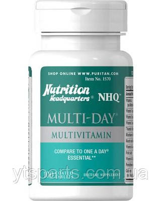 Puritans Pride Multi - Day Multivitamin 100caplets