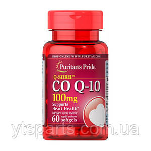 Puritans Pride Co Q-10 100mg 60softgels