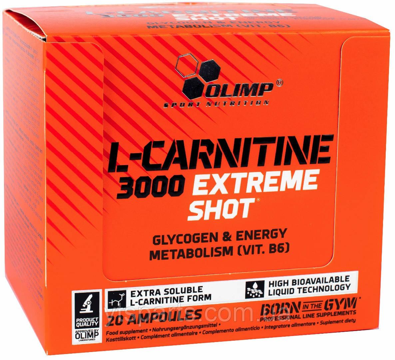 OLIMP L-Carnitine 3000 Extreme Shot 20х25ml