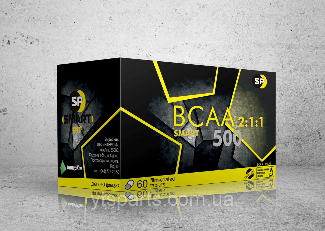 SMART PIT BCAA 2:1:1 Smart 500 60 tab