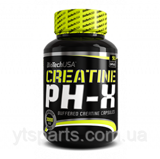 BioTech CREATINE pH-X 90 капс.