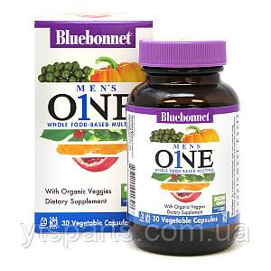 Мужские Мультивитамины, Men's One, Bluebonnet Nutrition, 30 растительных капсул