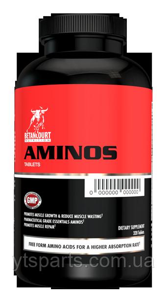 Betancourt nutritionAminos 320 tabs