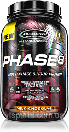 MUSCLETECH PHASE 8 Performance 907 г