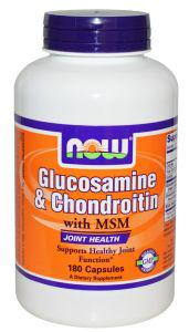 Now Glucosamine & Chondroitin with MSM, 180 caps