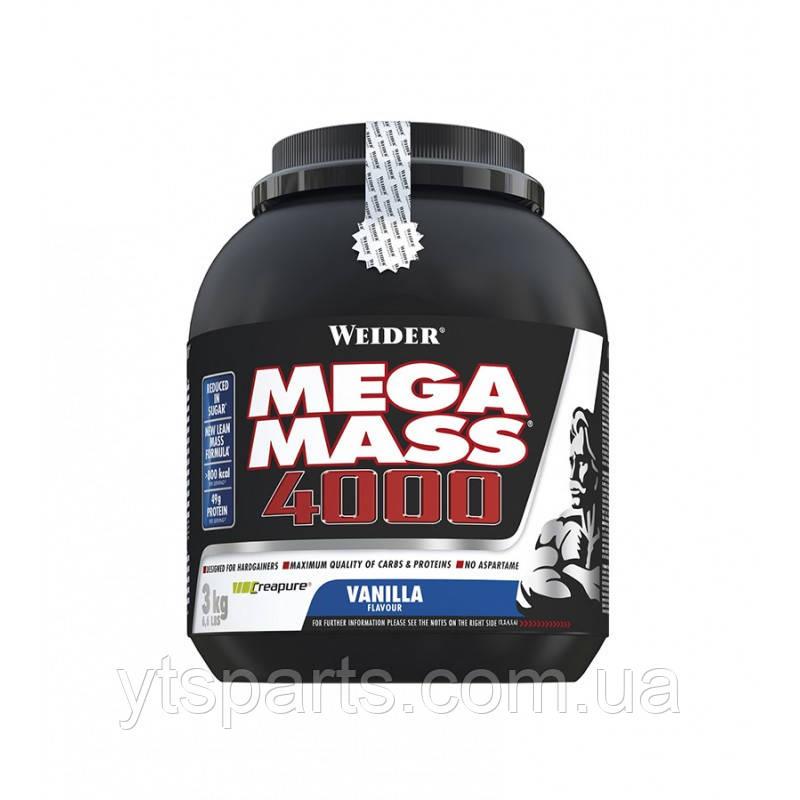 Гейнер Weider Mega Mass 4000 3 kg
