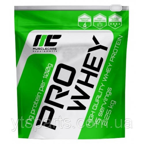 MuscleCare Pro Whey 80, 900 g
