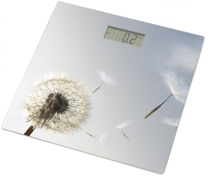 Весы напольные Grunhelm BES-BLG (Одуван-серый) с максимально допустимым весом 180 кг