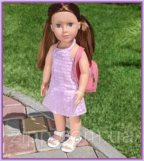 Говорящая интерактивная кукла 48 см   Большая кукла Тина 48 см поет песню и рассказывает стих на украинском