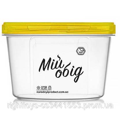 Контейнер харчовій з різьбленням 1л d14*10см NP-81ж (60шт)
