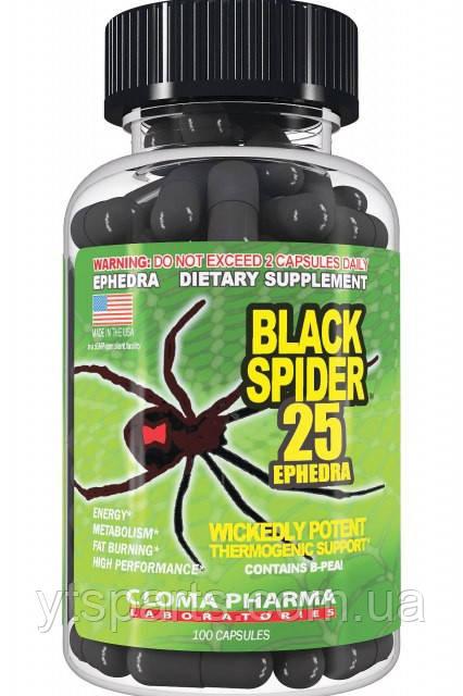 Cloma Pharma Black Spider 100 caps
