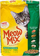 Meow Mix Indoor Formula, 6,44 кг