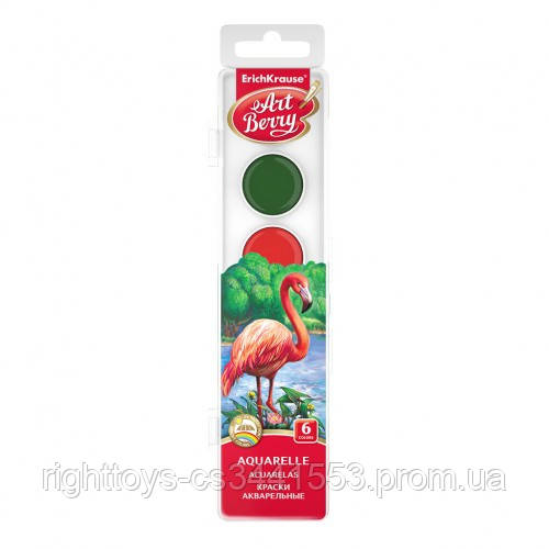 Фарби акварельні Art Berry, 6 кольор., EK 41723