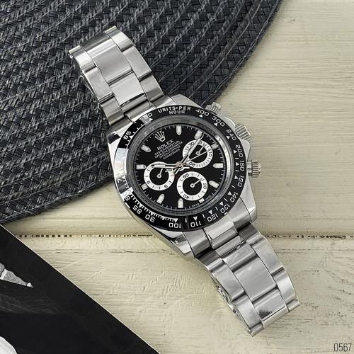 Rolex ААА (Silver-Black-Black)