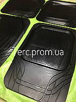 Коврики резиновые универсальные на все авто комплект ковриков для всех машин