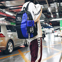 Спортивный тканевый рюкзак для школы с пеналом, фото 2