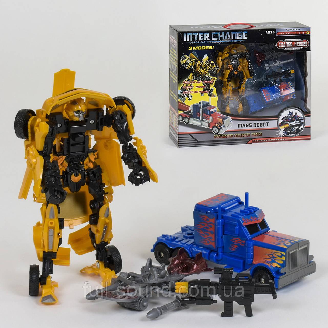 Набор трансформеров mars robot 4096